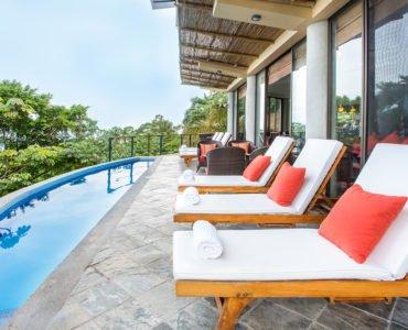 Villa Perezoso Pool Deck